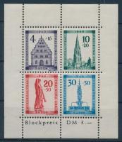 1949 Breisgau újjáépítése blokk Mi 1 A