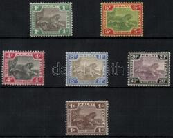 1901-1918 Forgalmi bélyegek / Definitive stamps Mi 15 + 18 + 29a + 31y + 33 + 44