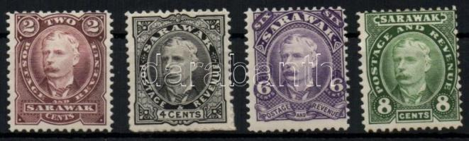 Sarawak 1895 Forgalmi sor (4C betapadással) Mi 22-25