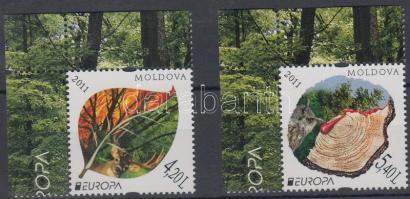 2011 Europa CEPT Az erdő sor Mi 749-750