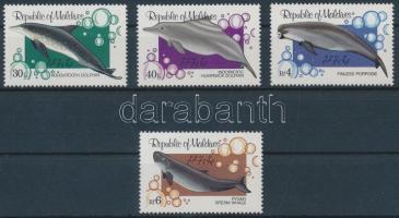1983 Bálnák és delfinek sor Mi 1013-1016