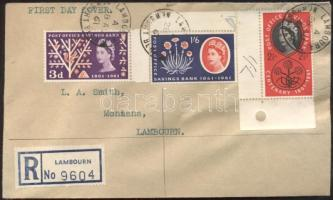 1961 Postatakarék Mi 343-345 FDC