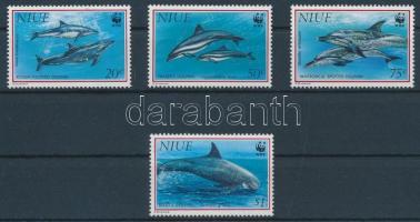 1993 Delfinek sor Mi 822-825