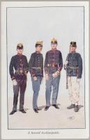 Hungarian young officers s: Garay, Honvéd tisztisarjadék s: Garay