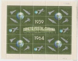 1964 25 évesek az első kísérleti rakéták kisív sor Mi 918-942