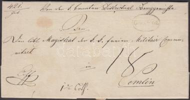 1838 Ex offo Oravicza - Semlin