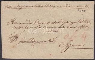 1821 Ex offo OFEN. - Agram