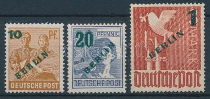 1949 Mi 65-67