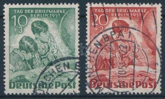 1951 Bélyegnap Mi 80-81