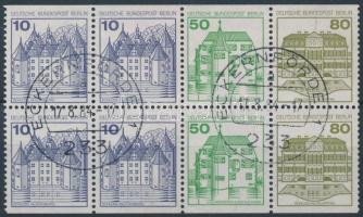 1977 Várak füzetlap Mi 21