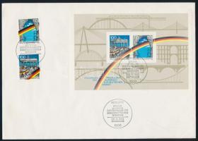 1969-1993 5 klf blokk FDC