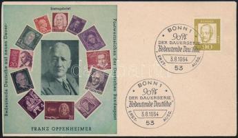 1961 Híres németek Mi 360 FDC