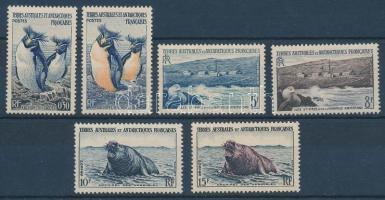 1956 Állatok Mi 2-7
