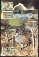 1992 WWF: Pritchard dzsungel tyúk Mi 233-236 4 db CM-en