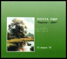 Dnyeszter Menti Moldáv köztársaság 2001 Európa bélyegfüzet