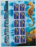 Europe: Aquatic creatures minisheet set, Európa: Vízi élőlények kisív sor