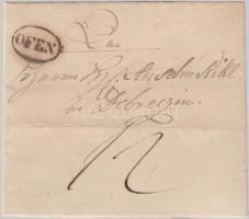 1844 Portós levél OFEN - DEBREZEN