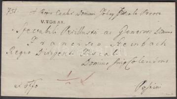 1830 Ex offo V.TOKAI. - Pestini