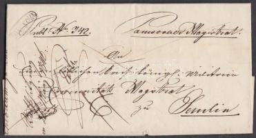 1846 Franco PANCSOVA - kék SEMLIN