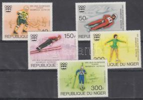 1976 Innsbrucki téli olimpia sor Mi 506-510