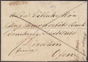 1839 Franco, negatív / negative ROSNAU - Ofen