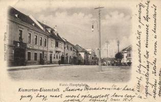 Kismarton main square