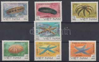 1985 Tengeri állatok Mi 1593-1599