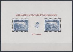 1998 Nemzetközi bélyegkiállítás, Prága blokk Mi 6