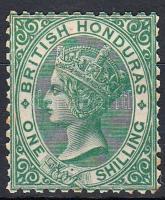 Brit Honduras 1872 Forgalmi bélyeg Mi 8 A