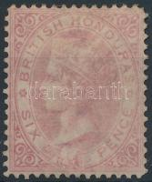 Brit Honduras 1872 Forgalmi bélyeg Mi 7 C