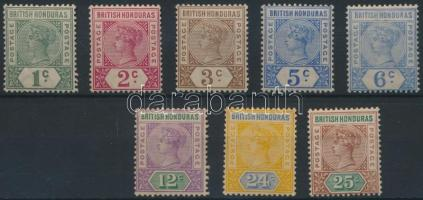 1891/1895 Definitive set (the set is out of 10c) 1891/1895 Forgalmi sor (10C hiányzik)