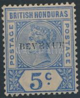 "Overprinted (""BEVENUE"") definitive set Forgalmi bélyeg felülnyomással ""BEVENUE"""
