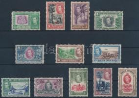 1938/1947 Definitive set (112 and 144 hinged, the others MNH) 1938/1947 Forgalmi sor (112 és 114 falcos, a többi érték postatiszta)
