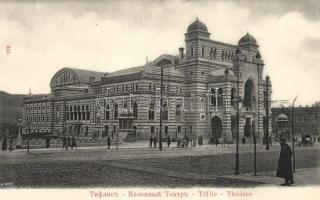 Tbilisi, Tiflis; theatre