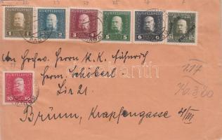 1916 Levél Radomból Brünnbe / Cover from Radom to Brünn