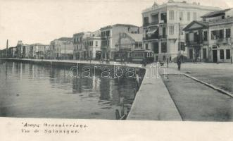 Thessaloniki quay, tram (EK)