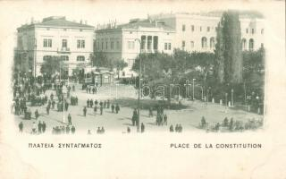 Athens Syntagma / Constitution square