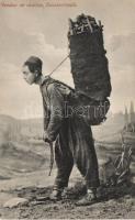 Coal vendor in Constantinople, Szén árus