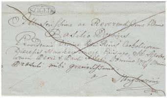 1843 Franco SZIGETH - Unghvár