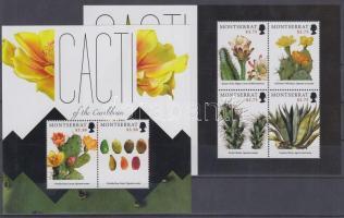 2012 Kaktuszok kisív + blokk