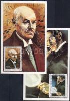 Important personalities stamps from a set 2 CM, Jelentős személyiségek bélyegek egy sorból 2 CM, Bedeutende Persönlichkeiten Marken aus einem Satz 2 CM