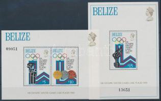 1979 Téli olimpia, Lake Placid blokksor Mi 12-13