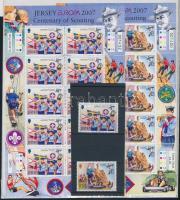 2007 Europa CEPT: Cserkészet sor + kisívpár Mi 1268-1269