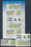 Europe CEPT: Scouting pair + pair with coupon + mini-sheet, Europa CEPT: Cserkészet pár + pár szelvénnyel + kisív