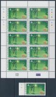 2007 Europa CEPT: Cserkészet ívszéli bélyeg + kisív Mi 556