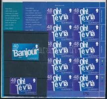 2008 Europa CEPT: A levélírás sor + kisív Mi 1186-1187