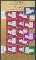 2008 Europa CEPT: A levélírás sor Mi 1333-1336 + kisívpár Mi 1334-1335