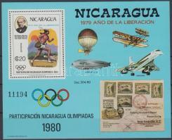 1980 Olimpia blokk Mi 111