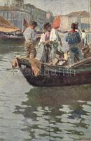 Fishermen s: G. Grimani, Halászok s: G. Grimani