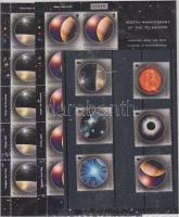 2009 Europa CEPT: Csillagászat sor Mi 1238-1243 + kisív pár Mi 1240-1241